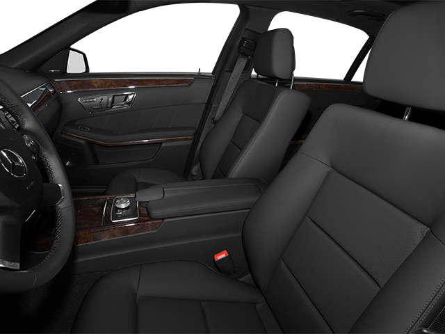 2013 Mercedes-Benz E-Class Prices and Values Sedan 4D E350 BlueTec front seat interior