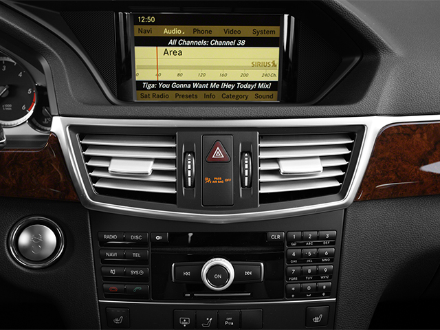 2013 Mercedes-Benz E-Class Prices and Values Sedan 4D E350 BlueTec stereo system