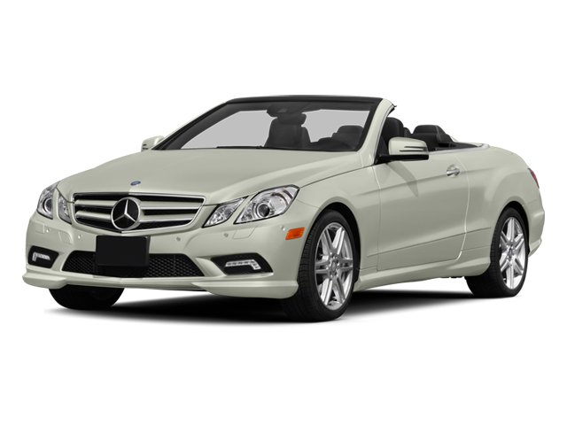 2013 Mercedes-Benz E-Class Prices and Values Convertible 2D E550 side front view
