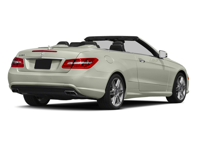 2013 Mercedes-Benz E-Class Prices and Values Convertible 2D E550 side rear view