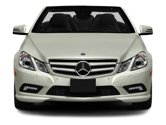 2013 Mercedes-Benz E-Class Prices and Values Convertible 2D E550 front view