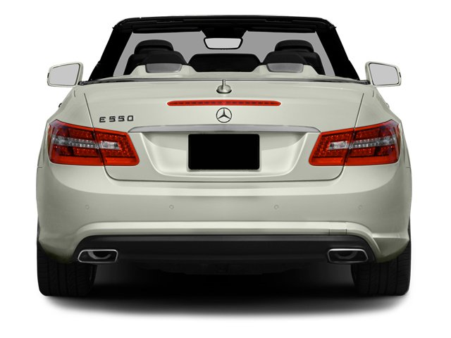 2013 Mercedes-Benz E-Class Prices and Values Convertible 2D E550 rear view