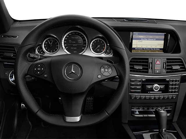 2013 Mercedes-Benz E-Class Prices and Values Convertible 2D E550 driver's dashboard
