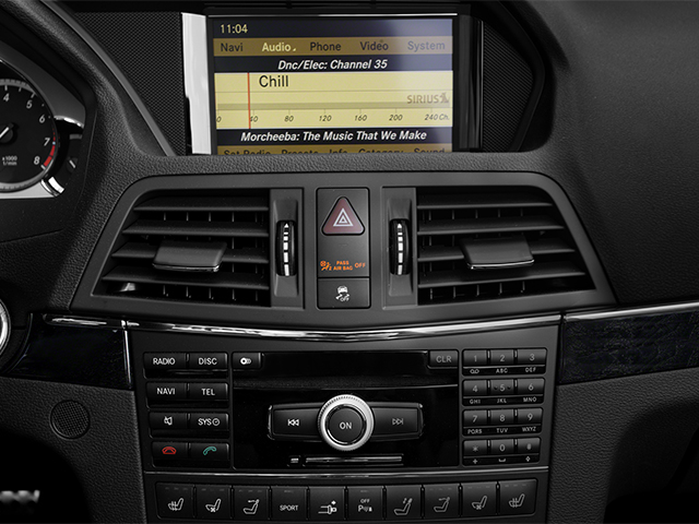 2013 Mercedes-Benz E-Class Prices and Values Convertible 2D E550 stereo system