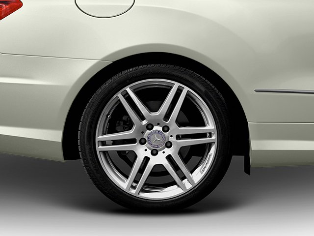 2013 Mercedes-Benz E-Class Prices and Values Convertible 2D E550 wheel
