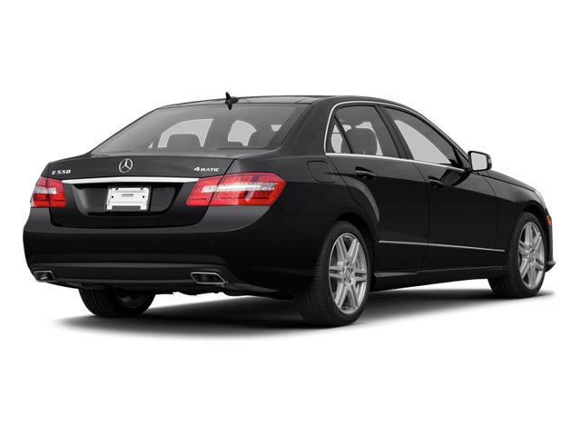 2013 Mercedes-Benz E-Class Prices and Values Sedan 4D E63 AMG side rear view