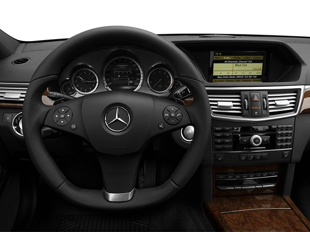 2013 Mercedes-Benz E-Class Prices and Values Sedan 4D E63 AMG driver's dashboard