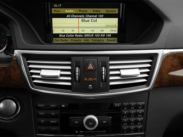 2013 Mercedes-Benz E-Class Prices and Values Sedan 4D E63 AMG stereo system