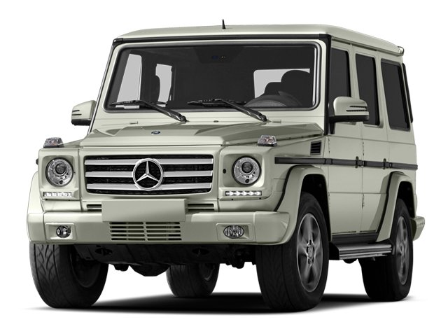 2013 Mercedes-Benz G-Class Pictures G-Class 4 Door Utility 4Matic photos side front view