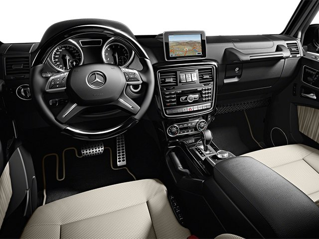 2013 Mercedes-Benz G-Class Pictures G-Class 4 Door Utility 4Matic photos full dashboard