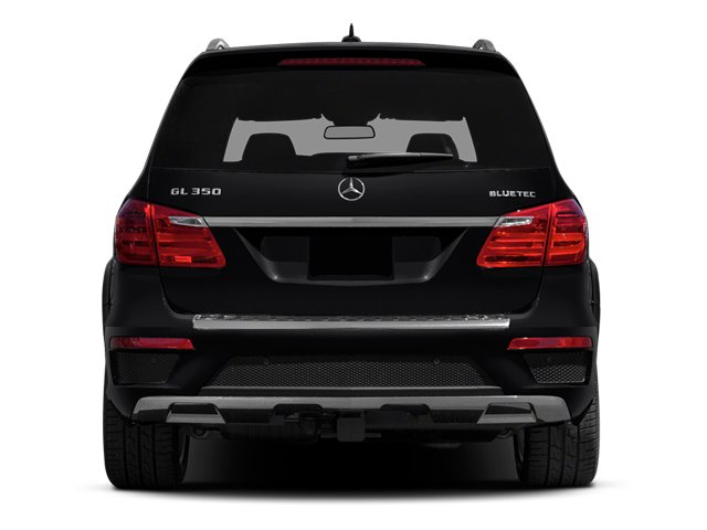 2013 Mercedes-Benz GL-Class Prices and Values Utility 4D GL350 BlueTEC 4WD rear view