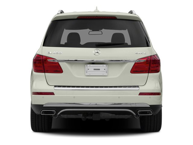 2013 Mercedes-Benz GL-Class Prices and Values Utility 4D GL450 4WD rear view