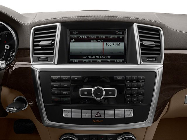 2013 Mercedes-Benz GL-Class Prices and Values Utility 4D GL450 4WD stereo system