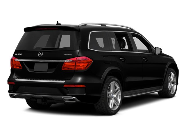 2013 Mercedes-Benz GL-Class Prices and Values Utility 4D GL550 4WD side rear view