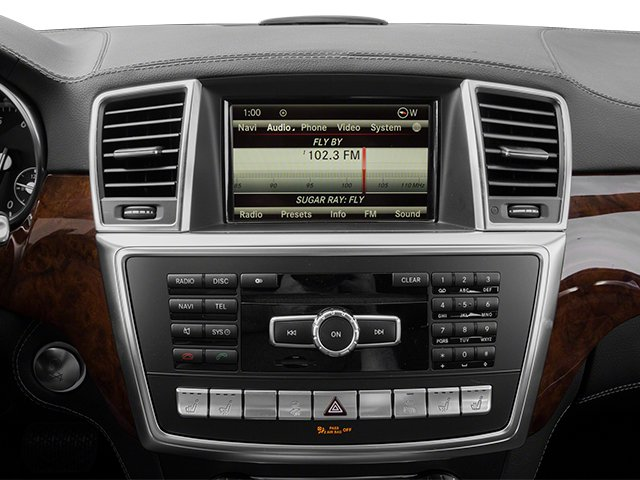 2013 Mercedes-Benz GL-Class Prices and Values Utility 4D GL550 4WD stereo system