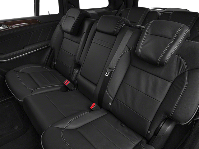 2013 Mercedes-Benz GL-Class Prices and Values Utility 4D GL550 4WD backseat interior