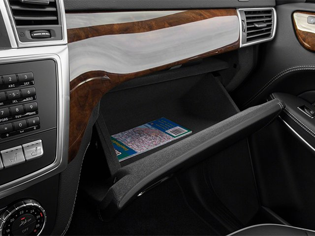 2013 Mercedes-Benz GL-Class Prices and Values Utility 4D GL550 4WD glove box