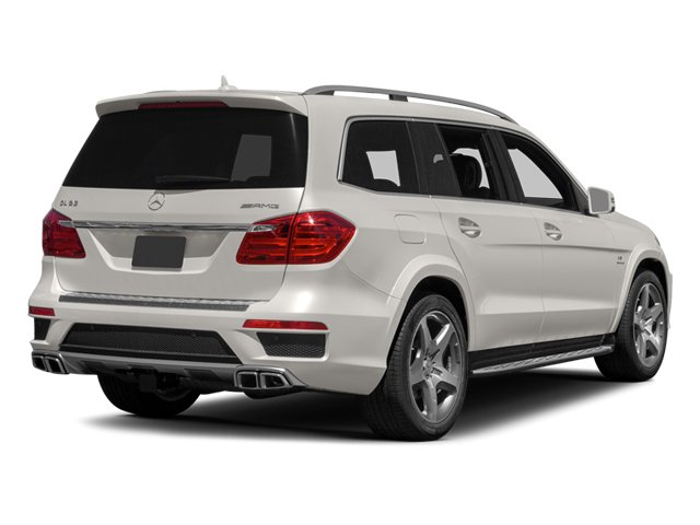 2013 Mercedes-Benz GL-Class Pictures GL-Class Utility 4D GL63 AMG 4WD photos side rear view