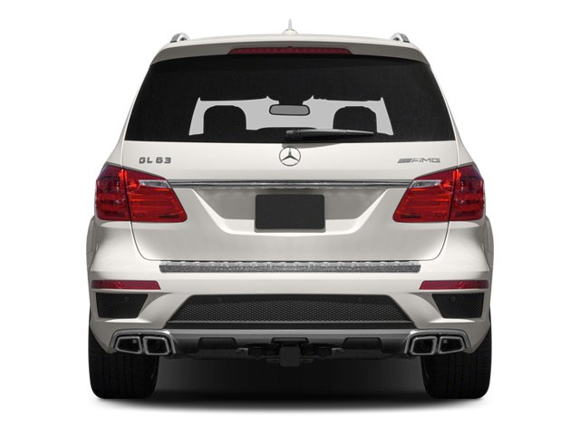 2013 Mercedes-Benz GL-Class Pictures GL-Class Utility 4D GL63 AMG 4WD photos rear view