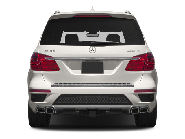 2013 Mercedes-Benz GL-Class Prices and Values Utility 4D GL63 AMG 4WD rear view