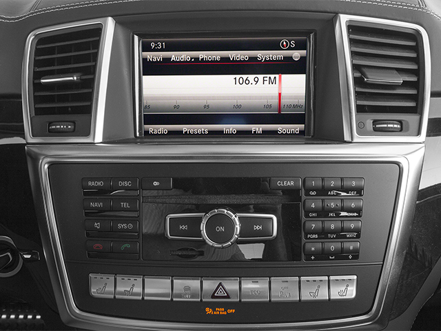 2013 Mercedes-Benz GL-Class Pictures GL-Class Utility 4D GL63 AMG 4WD photos stereo system