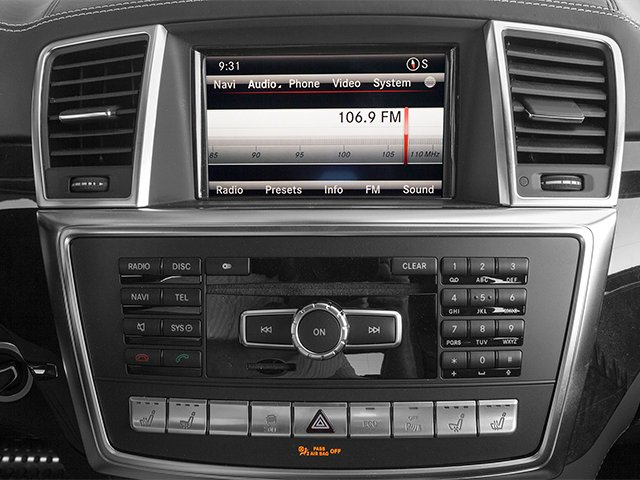 2013 Mercedes-Benz GL-Class Prices and Values Utility 4D GL63 AMG 4WD stereo system