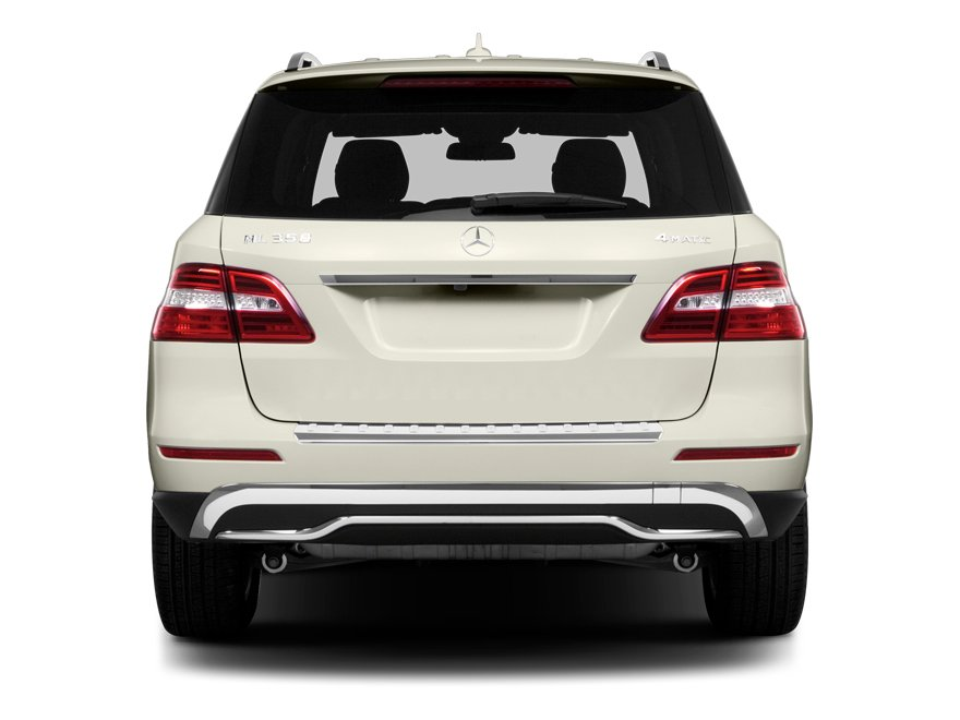 2013 Mercedes-Benz M-Class Prices and Values Utility 4D ML350 2WD rear view