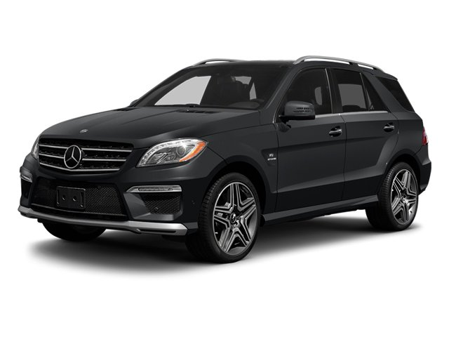 2013 Mercedes-Benz M-Class Prices and Values Utility 4D ML63 AMG AWD side front view