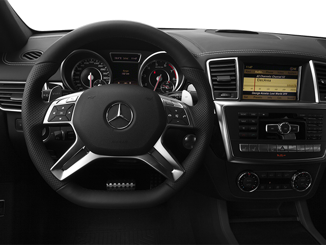 2013 Mercedes-Benz M-Class Prices and Values Utility 4D ML63 AMG AWD driver's dashboard