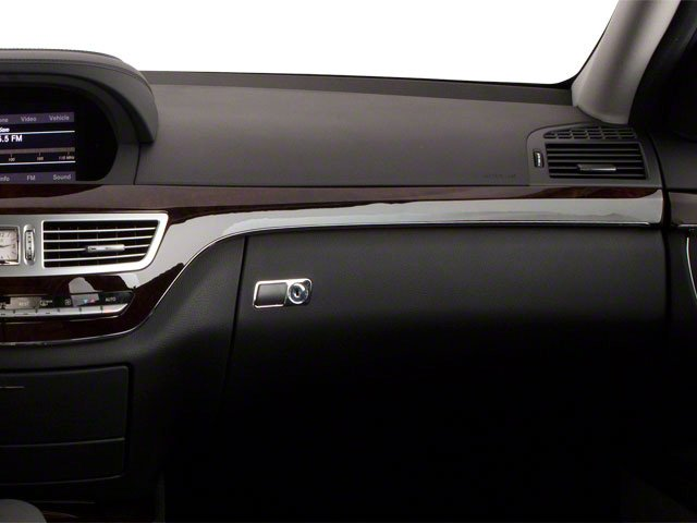2013 Mercedes-Benz S-Class Pictures S-Class Sedan 4D S400 Hybrid photos passenger's dashboard