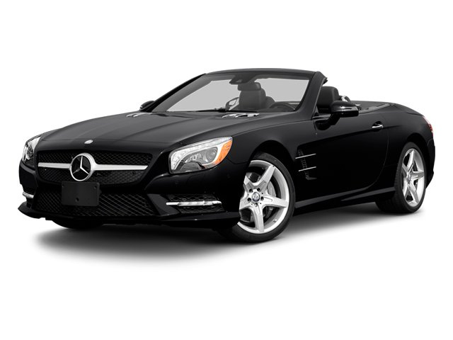 2013 Mercedes-Benz SL-Class Prices and Values Roadster 2D SL550 side front view