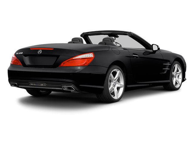 2013 Mercedes-Benz SL-Class Prices and Values Roadster 2D SL550 side rear view
