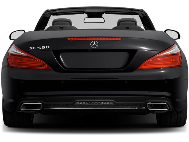 2013 Mercedes-Benz SL-Class Prices and Values Roadster 2D SL550 rear view