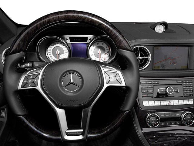 2013 Mercedes-Benz SL-Class Prices and Values Roadster 2D SL550 driver's dashboard