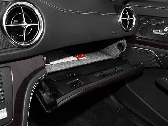 2013 Mercedes-Benz SL-Class Prices and Values Roadster 2D SL550 glove box