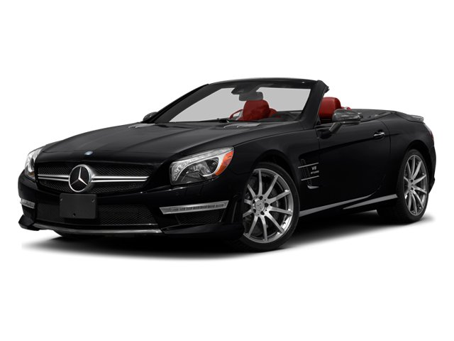 2013 Mercedes-Benz SL-Class Prices and Values Roadster 2D SL63 AMG side front view