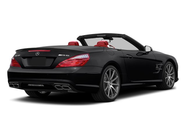 2013 Mercedes-Benz SL-Class Pictures SL-Class Roadster 2D SL63 AMG photos side rear view