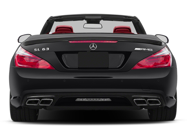 2013 Mercedes-Benz SL-Class Prices and Values Roadster 2D SL63 AMG rear view