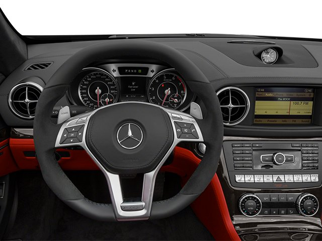2013 Mercedes-Benz SL-Class Prices and Values Roadster 2D SL63 AMG driver's dashboard
