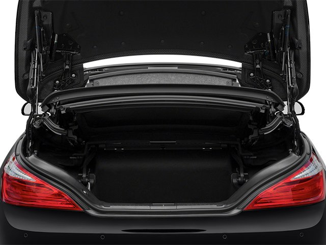 2013 Mercedes-Benz SL-Class Prices and Values Roadster 2D SL63 AMG open trunk