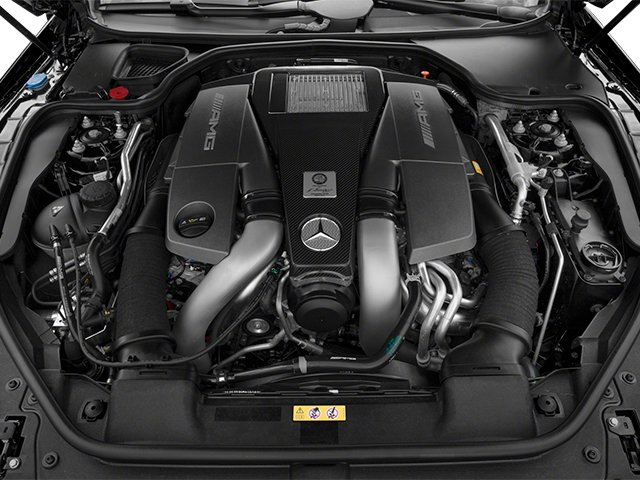 2013 Mercedes-Benz SL-Class Prices and Values Roadster 2D SL63 AMG engine