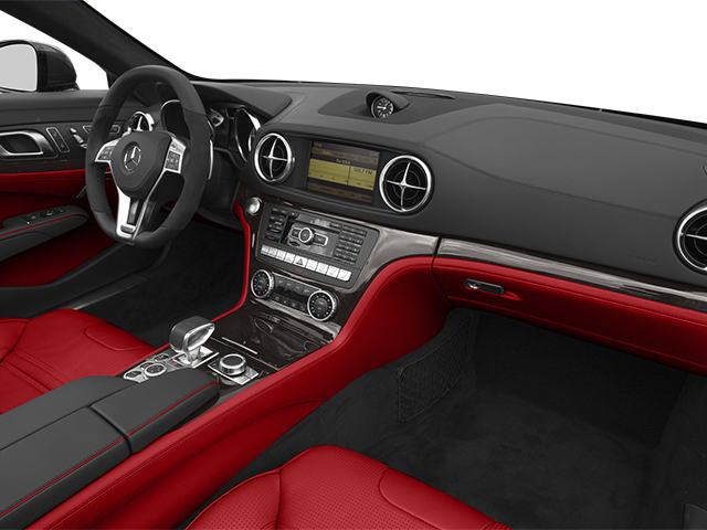 2013 Mercedes-Benz SL-Class Prices and Values Roadster 2D SL63 AMG passenger's dashboard
