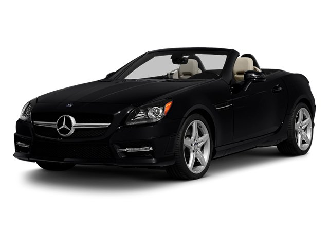 2013 Mercedes-Benz SLK-Class Prices and Values Roadster 2D SLK250 side front view