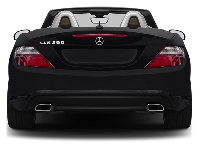 2013 Mercedes-Benz SLK-Class Prices and Values Roadster 2D SLK250 rear view