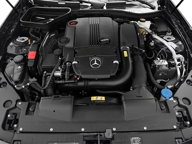 2013 Mercedes-Benz SLK-Class Prices and Values Roadster 2D SLK250 engine
