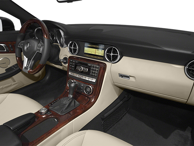 2013 Mercedes-Benz SLK-Class Prices and Values Roadster 2D SLK350 passenger's dashboard