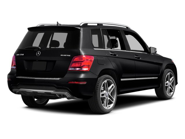 2013 Mercedes-Benz GLK-Class Prices and Values Utility 4D GLK250 BlueTEC AWD side rear view
