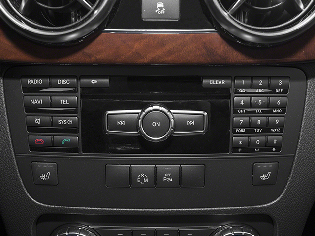2013 Mercedes-Benz GLK-Class Prices and Values Utility 4D GLK250 BlueTEC AWD stereo system