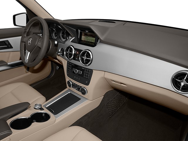 2013 Mercedes-Benz GLK-Class Prices and Values Utility 4D GLK350 AWD passenger's dashboard