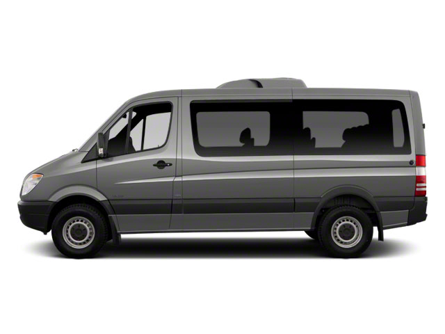 2013 Mercedes-Benz Sprinter Passenger Vans Prices and Values Extended Passenger Van High Roof side view